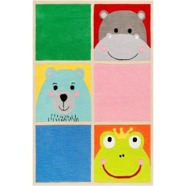 Tapis enfant animal What's Up!? Smart Kids