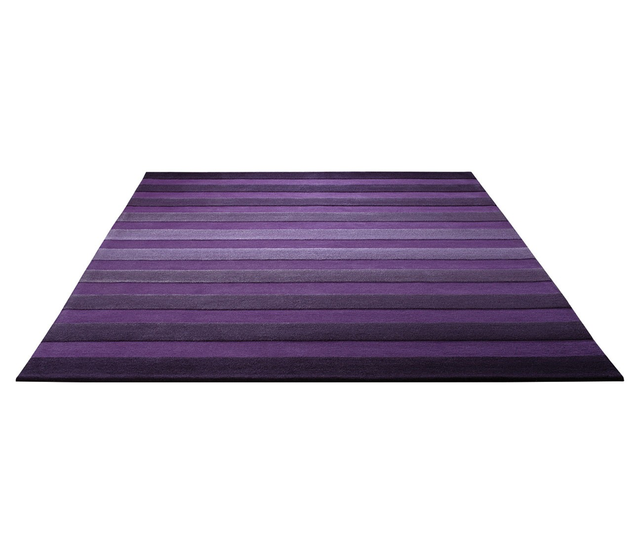 Tapis de salon violet Cross Walk par esprit Home