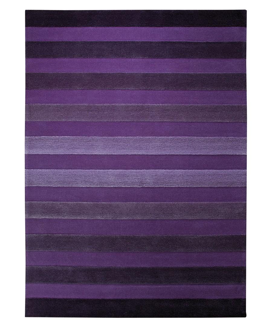 Tapis de salon violet Cross Walk par esprit Home