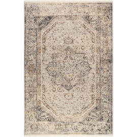 Tapis vintage gris avec franges SoHo Touch Wecon Home