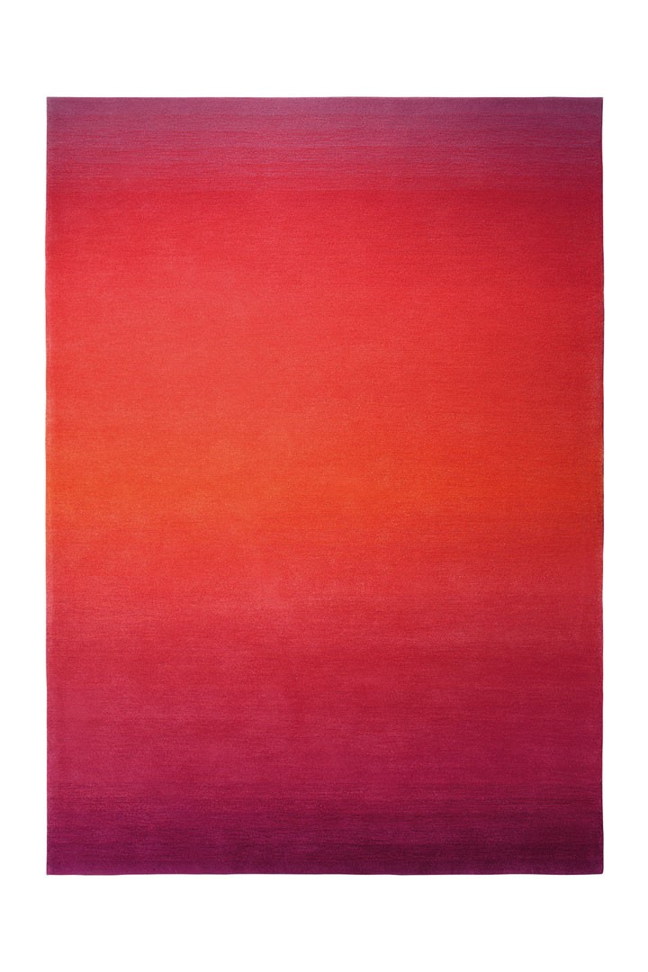 Tapis rouge en acrylique Summer Fun par Esprit Home