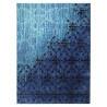Tapis tissé imprimé bleu Vintage par Esprit Home