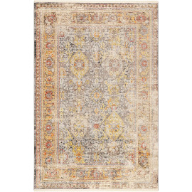 Tapis avec franges beige vintage SoHo Fashion Wecon Home