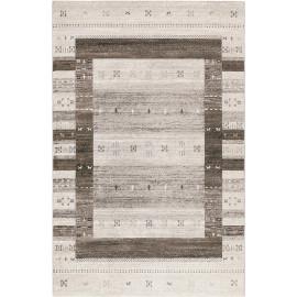Tapis ethnique gris rectangle Igor Wecon Home