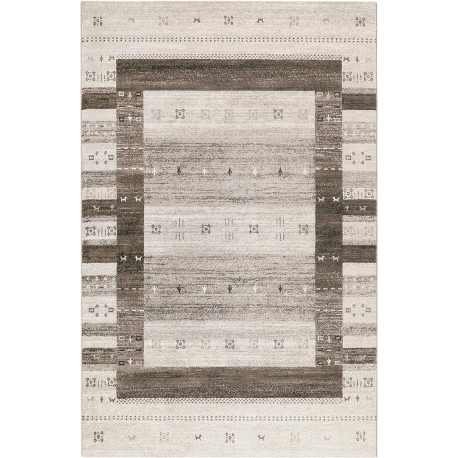 Tapis ethnique gris rectangle Igor Wecon Home