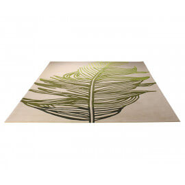 Tapis contemporain rectangle beige Feather par Esprit Home