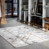 Tapis effet marbre design gris M.A.R.B.L.E & G Wecon Home