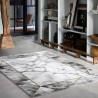 Tapis moderne effet marbre gris M.A.R.B.L.E & B Wecon Home