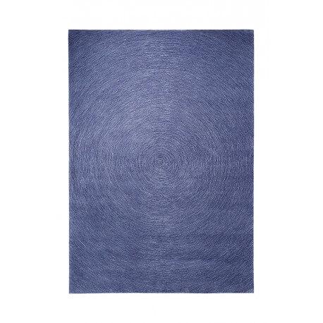 Tapis plat rectangulaire bleu Colour In Motion par Esprit Home