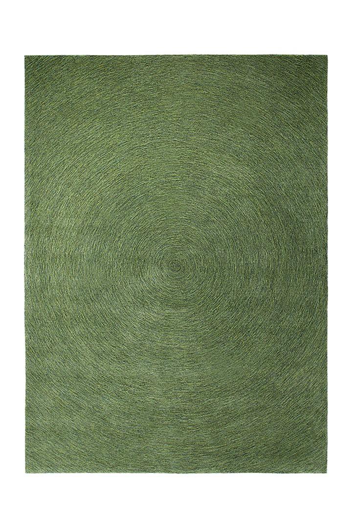 Tapis plat rectangulaire vert Colour In Motion par Esprit Home