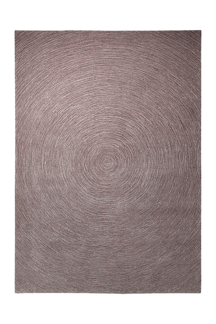 Tapis plat rectangulaire taupe Colour In Motion par Esprit Home