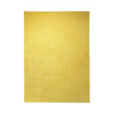Tapis plat rectangulaire jaune Colour In Motion par Esprit Home