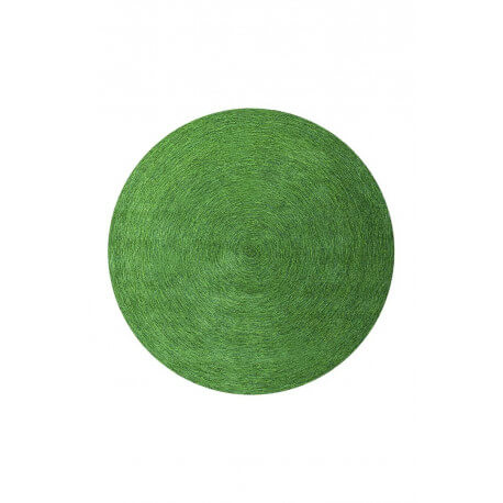 Tapis rond uni vert Colour In Motion par Esprit Home