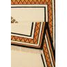 Tapis en laine berbère rouge ethnique Afoud Wecon Home