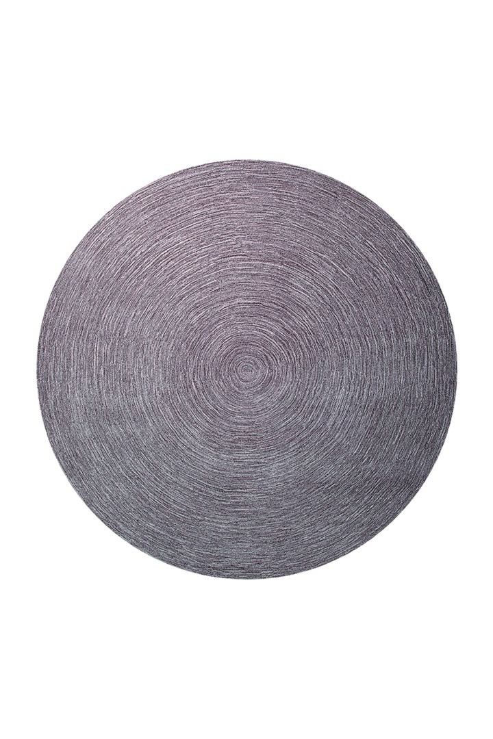 Tapis rond uni taupe Colour In Motion par Esprit Home