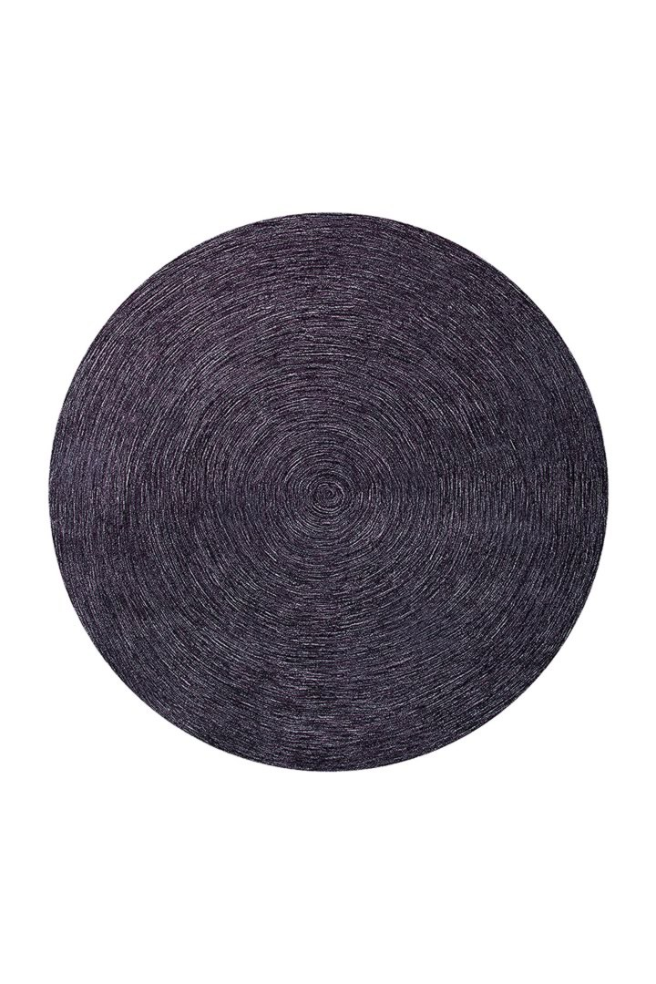 Tapis rond uni marron Colour In Motion par Esprit Home
