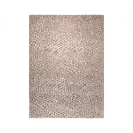 Tapis à courtes mèches beige Wave par Esprit Home
