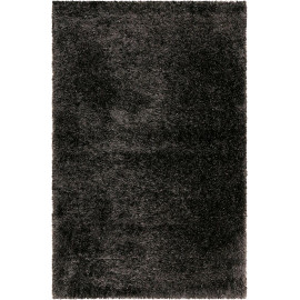 Tapis rectangle à longues mèches uni Shiny Touch Wecon Home