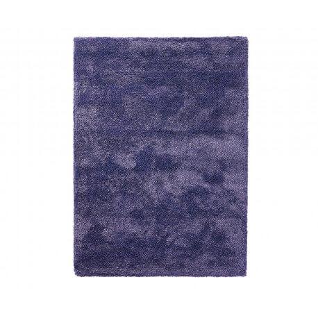 Tapis shaggy en polyester et laine bleu Wool Glamour par Esprit Home