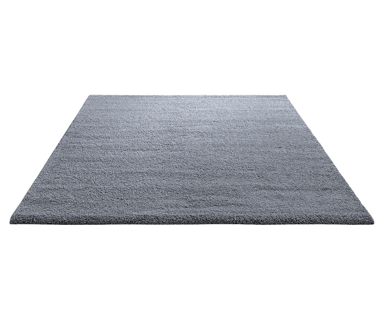tapis shaggy en polyester et laine gris wool glamour par esprit home. Black Bedroom Furniture Sets. Home Design Ideas