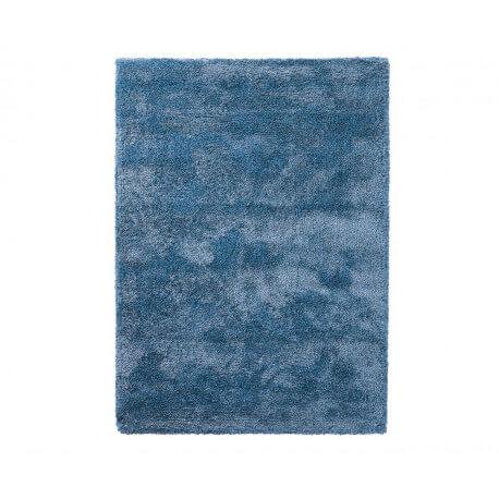 tapis shaggy en polyester et laine bleu clair wool glamour par esprit home. Black Bedroom Furniture Sets. Home Design Ideas