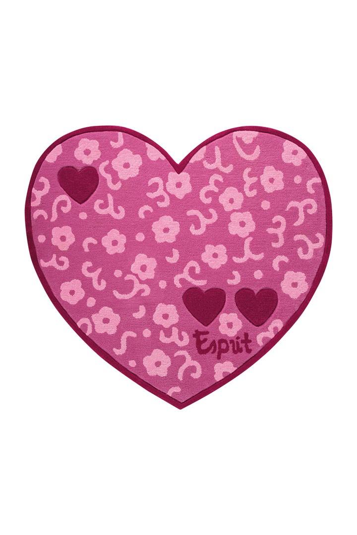 Tapis pour chambre de fille rose Heart Breaker par Esprit Home
