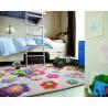 Tapis multicolore pour enfant Back To Flower Power par Esprit Home
