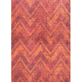 Tapis vintage multicolore rayé lavable en machine Pavie