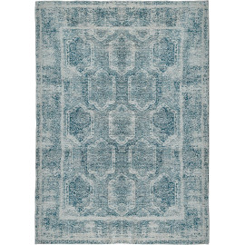 Tapis rayé vintage lavable en machine rectangle Basilicate