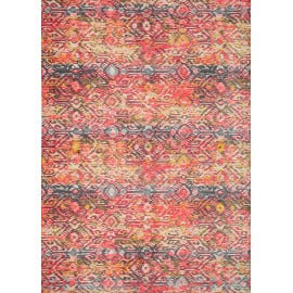 Tapis moderne ethnique lavable en machine Calabre