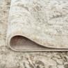 Tapis gris vintage pour salon rectangle rayé Battipaglia