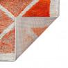 Tapis design à poils courts multicolore Ercolano