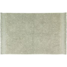 Tapis enfant en coton lavable en machine Woods Symphony