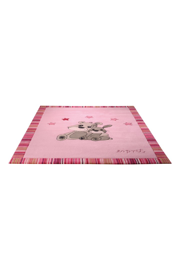 tapis pour chambre de b b rose little best friends par. Black Bedroom Furniture Sets. Home Design Ideas