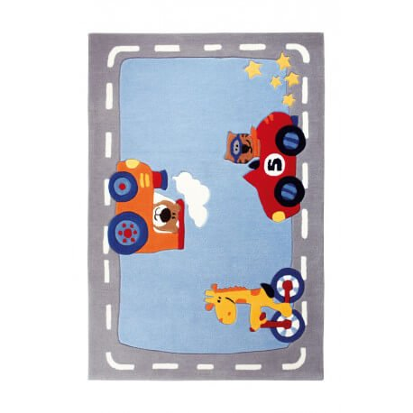 Tapis de chambre enfant Happy Street Traffic 1 Sigikid