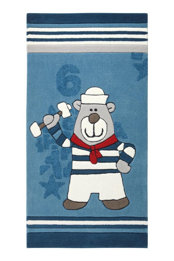 Tapis pour bébé bleu Olaf Laola Crew 2 Sigikid