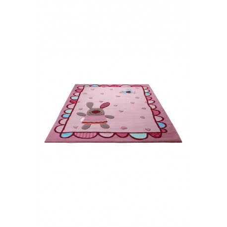 Tapis de chambre pour fille 3 Happy Friends Hearts 1 Sigikid