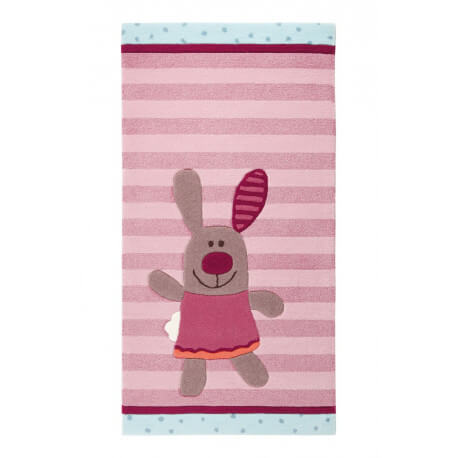 Tapis pour chambre de bébé 3 Happy Friends Stripes 2 Sigikid