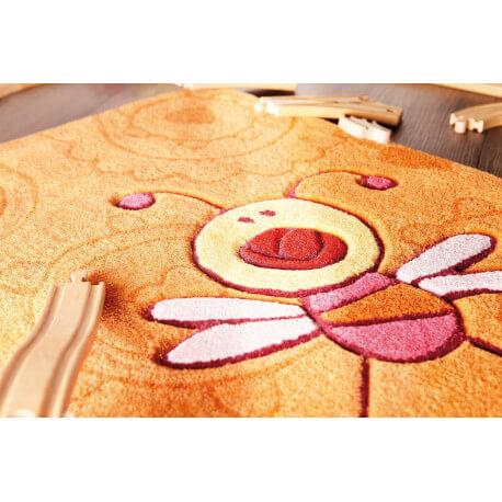 Tapis orange pour enfant Happy Zoo Summ Summ 1 Sigikid