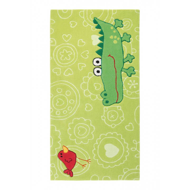 tapis vert enfant happy zoo crocodile 2 sigikid. Black Bedroom Furniture Sets. Home Design Ideas