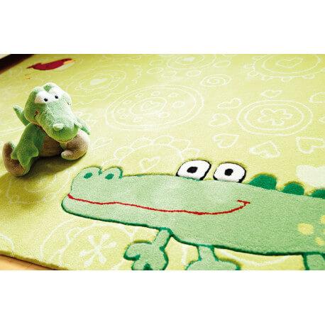 Tapis vert enfant Happy Zoo Crocodile 2 Sigikid