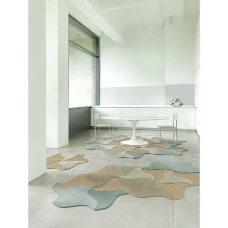Dalle à l'unité de tapis modulable Bloom Vorwerk