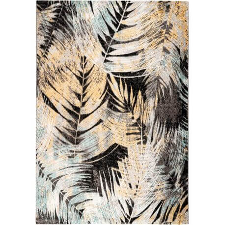 Tapis floral rectangle intérieur design Faro