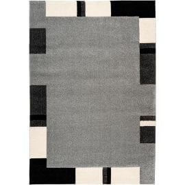 Tapis contemporain à mèches courtes rectangle Skanor