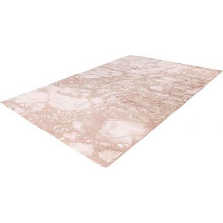 Tapis design marbré pour salon rectangle Sater