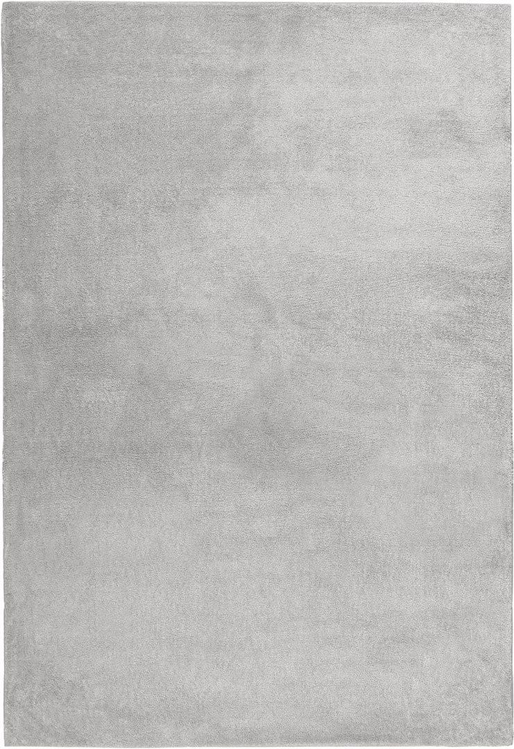 Tapis en polyester doux uni design Mamba