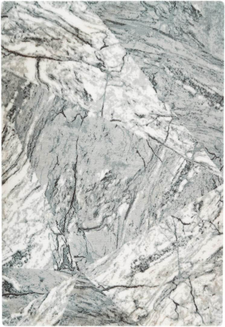 Tapis shaggy doux marbré scandinave Marble