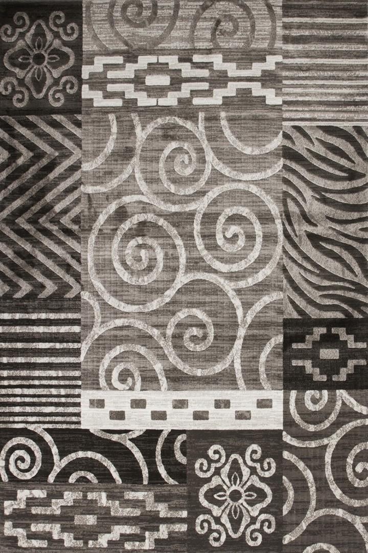Tapis rectangulaire contemporain Athènes II