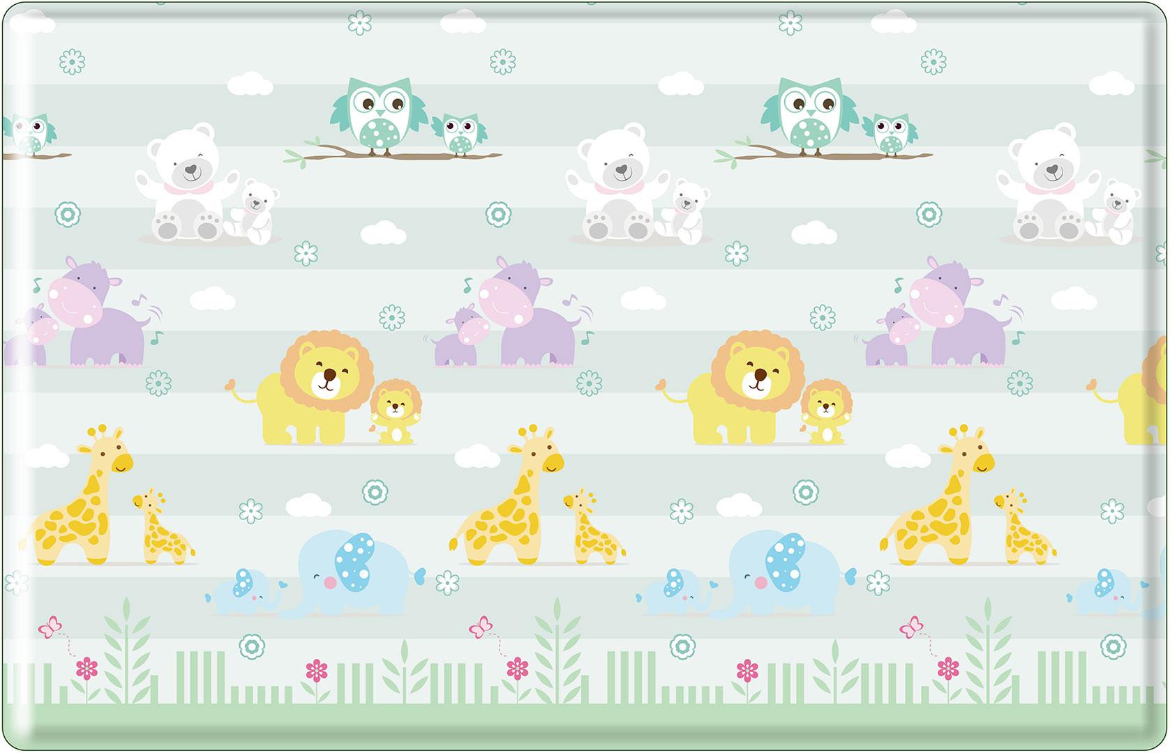 Tapis de jeu enfant multicolore Animals