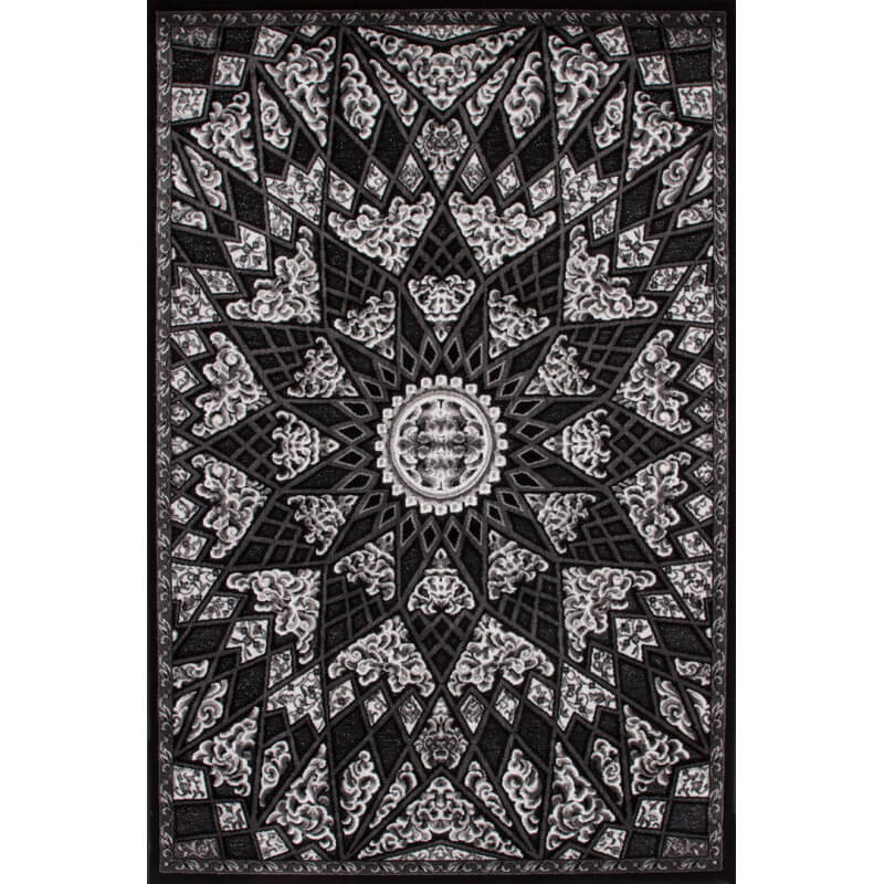 tapis brillant d 39 entr e noir jericho. Black Bedroom Furniture Sets. Home Design Ideas